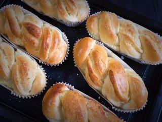 椰蓉酸奶味面包,无论颜色和口感都满意。
