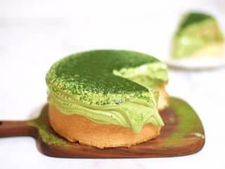 超级简单快手的抹茶爆浆蛋糕
