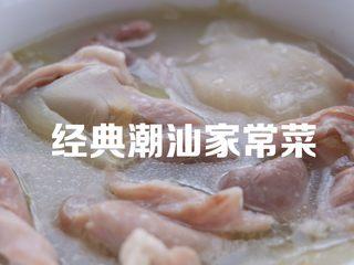 经典潮汕菜|咸菜猪肚汤