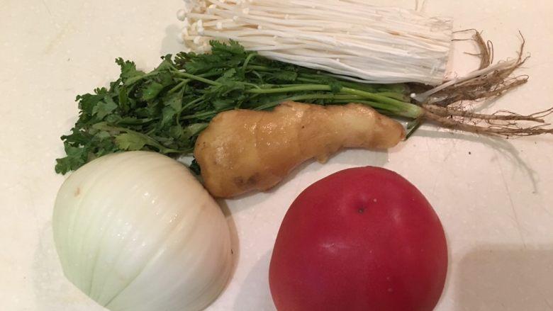 老王酸菜牛肉面,蔬菜在这里