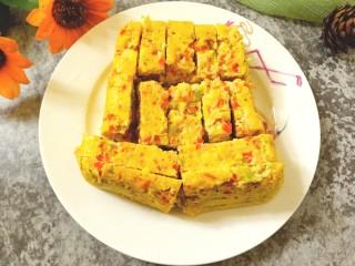 西兰花玉米鸡肉糕,松软香甜,营养美味
