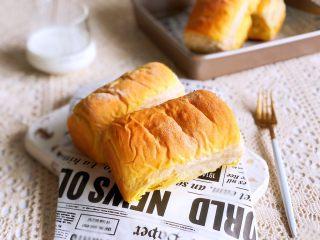 南瓜椰蓉面包,成品