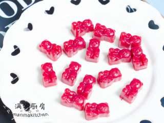 小熊Q糖,用藕粉来做小糖果吧,这样就做好了,是不是很简单~