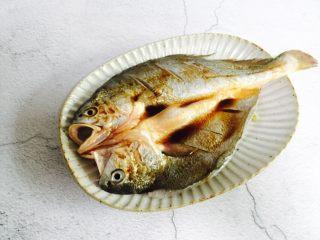 广式清蒸黄鱼,腌制十分钟