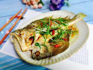 广式清蒸黄鱼,成品图二