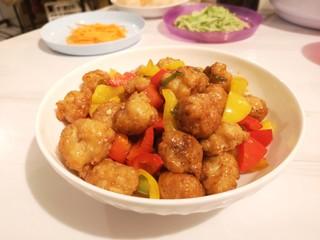 红烧豆腐丸子,就可以出锅啦。