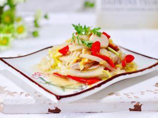 天鹅蛋白菜海鲜小炒,下饭又下酒呀,好吃到哭。