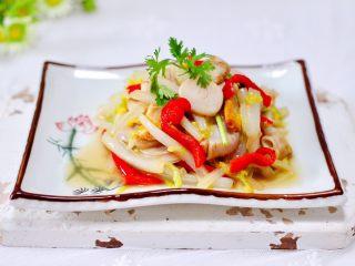 天鹅蛋白菜海鲜小炒,成品一