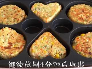 【杂蔬鸡肉饼】低脂营养高蛋白,可以根据自己的喜好延长烘烤时间
