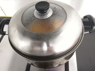 南瓜糯米夹心饼,上汽后,大火蒸10分钟