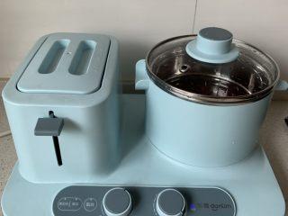 红豆椰奶西米露,煮开后转中火焖30-40分钟,我红豆没泡