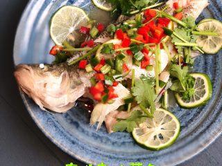 泰式青柠蒸鱼∣鲜嫩口感酸甜开胃