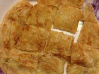 香蕉飞饼卷,需要形状的自己可以切,菱形,三角形等!
