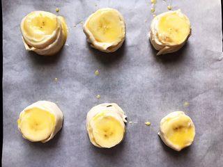 香蕉飞饼卷,刷好了