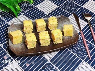 西兰花玉米鸡肉糕(芝士焗烤版),再来一张成品图。