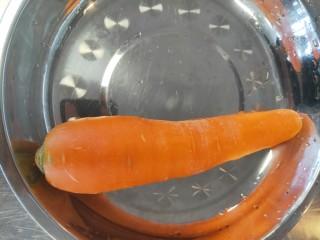 胡萝卜浓汤意面,胡萝卜一根