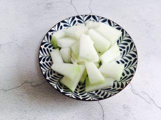 冬瓜蛋汤,装盘备用