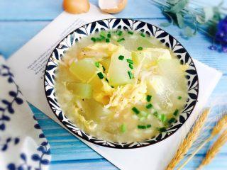 冬瓜蛋汤,成品图
