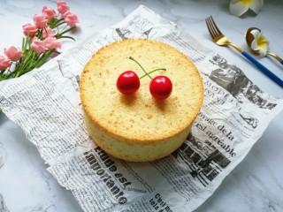 亚麻籽戚风蛋糕