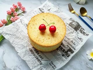 亚麻籽戚风蛋糕,美美哒亚麻籽戚风蛋糕。