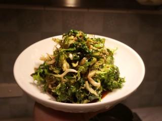 凉拌苦苣菜