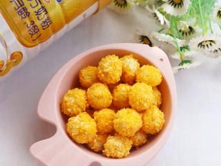 黄金米粉球,超级好吃。