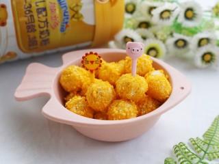 黄金米粉球,好吃到停不下来。