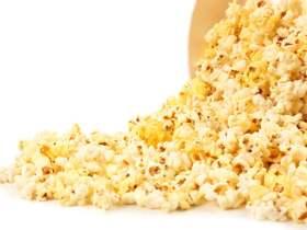 爆米花可以是一种健康的零食,但营养质量却有很大的差异