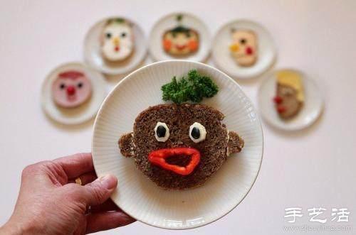栩栩如生的食材艺术