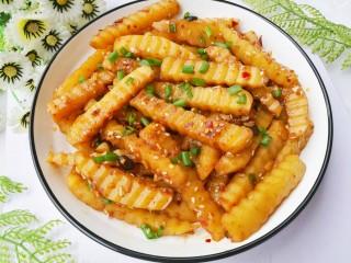 好吃到哭的凉拌狼牙土豆,成品。