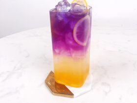 网红饮品—银河系水蜜桃,在家打造ins风