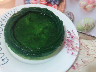 菠菜鸡蛋糕