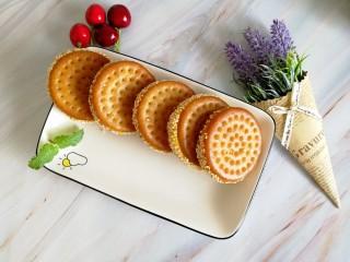 南瓜糯米夹心饼,就问一句这样的饼你能吃几个?我一口气三个没问题……