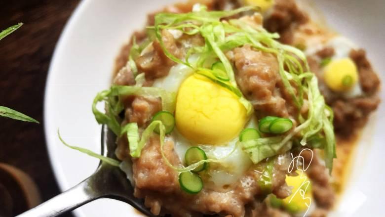 肉末鹌鹑蛋,上桌,小清新,有木有?