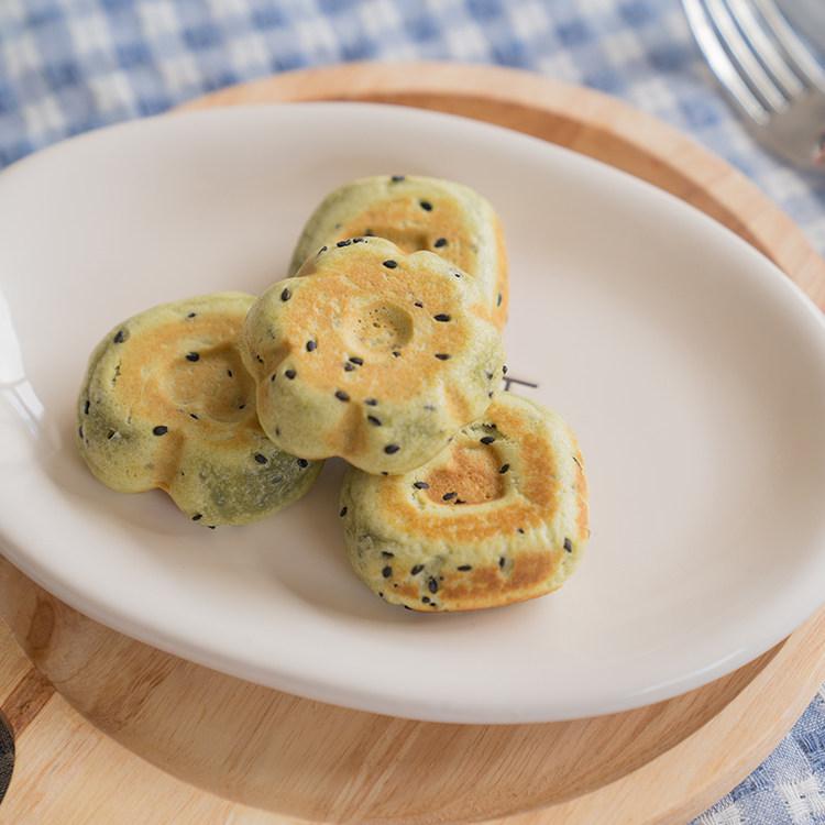 清香【抹茶麻薯】颜值和美味并存,美味可口的抹茶麻薯,外酥里糯!