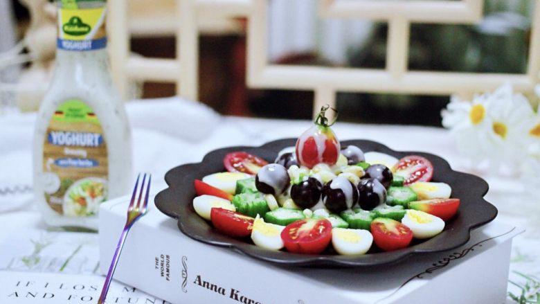 满园春色之蔬菜水果沙拉,好吃不上火又操作简单。
