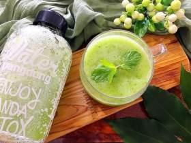 芹菜黄瓜芦笋汁,清口好喝,能降血脂,常喝防三高
