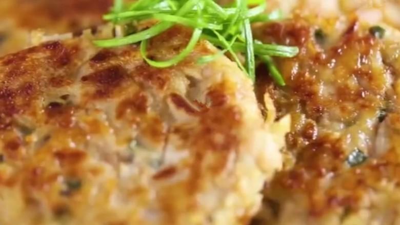 香煎牛肉土豆饼,尝一口,外皮焦脆,内里软糯