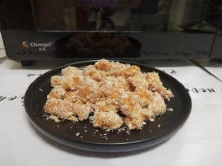 无油鸡米花(烤箱版),成品图