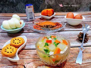 冬瓜胡萝卜肉丁汤,开开心心过好每一天就是长情的生活