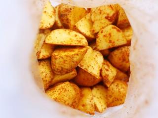 好吃到吮指的烤薯角,这样就可以。