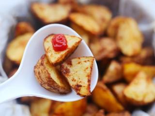 好吃到吮指的烤薯角,全家都喜欢。。