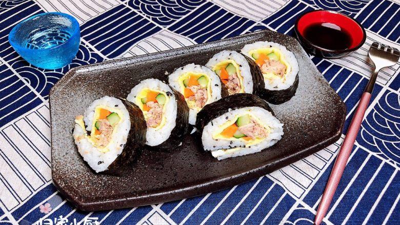 金枪鱼胚芽米寿司   便当