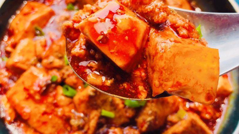 麻婆豆腐,成品
