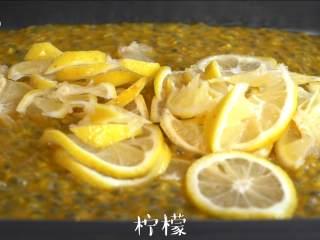 """每天一杯【百香果柠檬酱】变身""""白瘦美"""",加入柠檬片"""