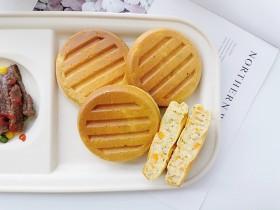 蔬菜奶香松饼