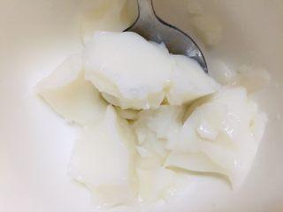 椰奶冻,还可以挖出来吃哦