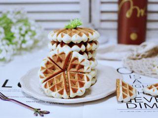 三色黎麦红薯华夫饼