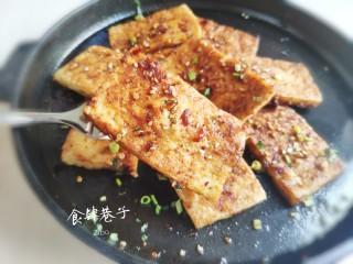 铁板豆腐,吃起来。。。