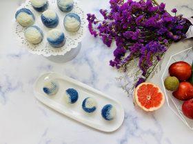 青花瓷冰皮月饼